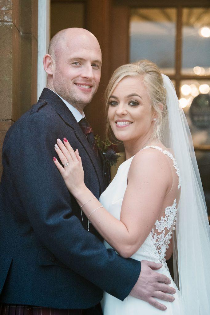 Our bride Michelle Edgar