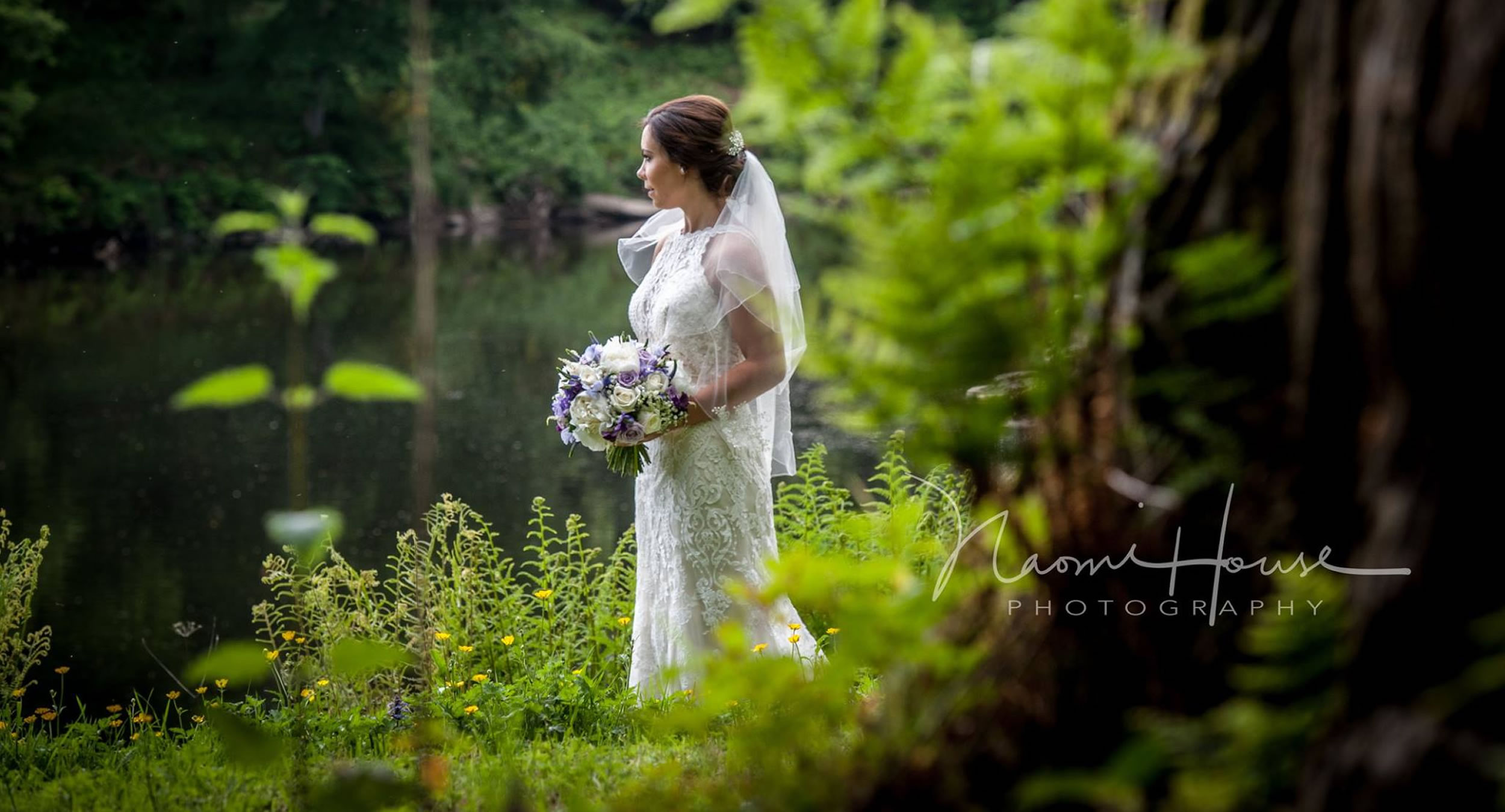 Bride dressed by Carols Bridal Boutique Carlisle