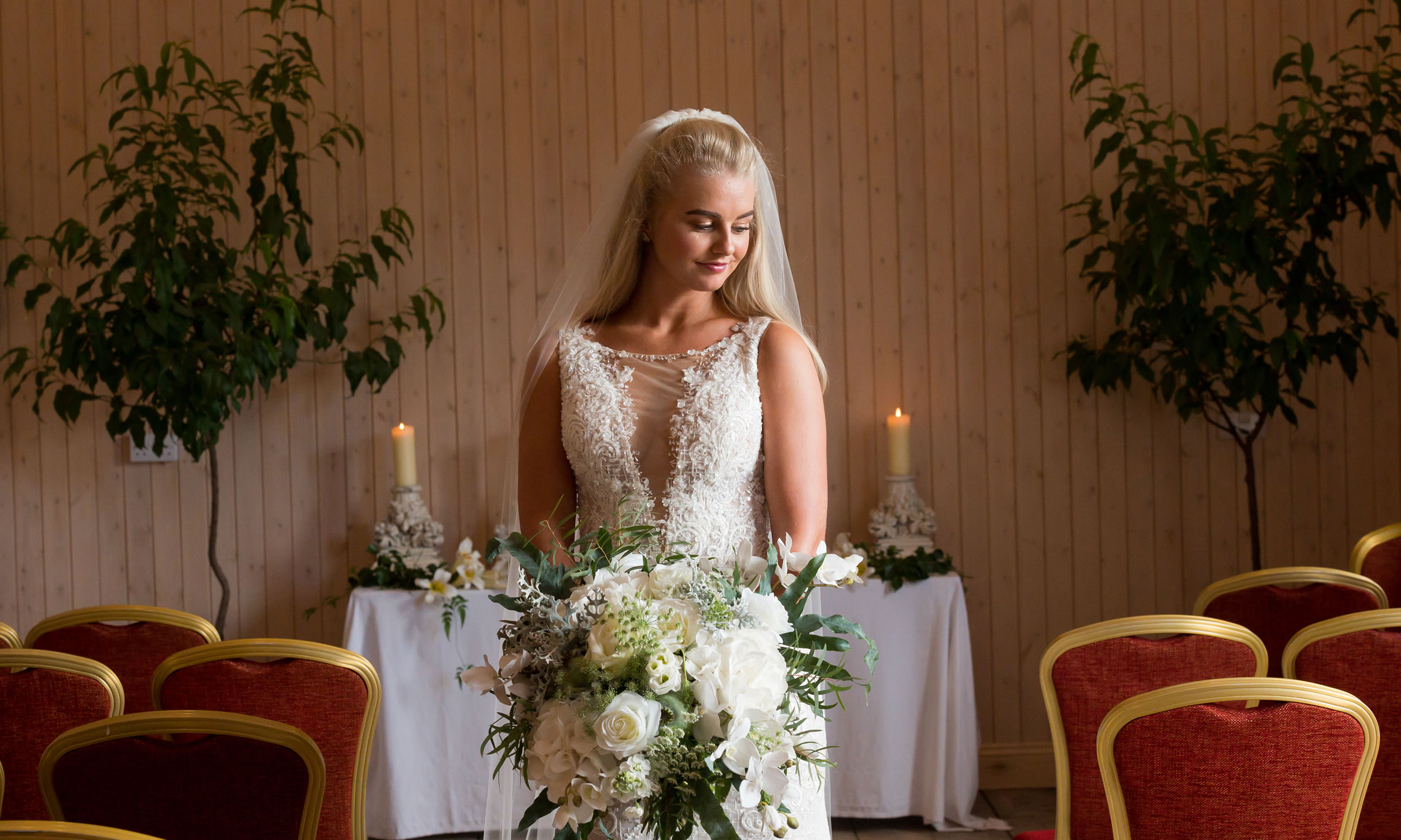 Dress available at Carols Bridal Boutique Carlisle